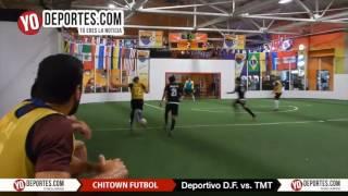 Deportivo DF vs.  TMT Chitown Futbol