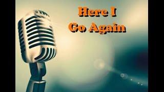 Here I Go Again - Whitesnake (Só Voz - Cover - Fabio Moreira)