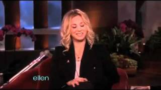 Kaley Cuoco Tells Her Leg-Breaking Story perfect Sexy