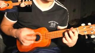 Burzum - Jeg Faller (ukulele acoustic cover)