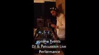 DJ & Percussion Live performance By Online Events