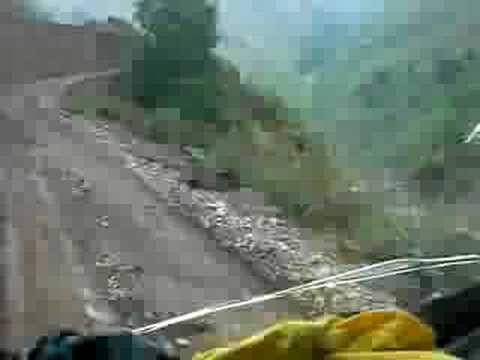 Dangerous road – Smashed windshield – Tipper ride – Dang to Rolpa Nepal