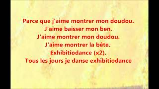 Exhibitiodance Max Boublil paroles lyrics.wmv