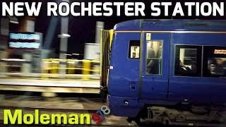 A Few Trains at New Rochester Station (Feat. Blue Class 375) 14/12/15