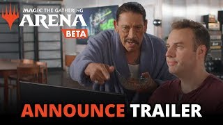 Magic: The Gathering Arena - Open Beta Announce Trailer (Official)
