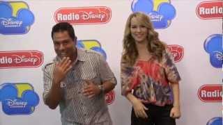 "Bridgit Mendler ""Ready or Not"" Rap with Ernie D | Radio Disney"