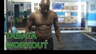 TABATA WORKOUT FOR FAT LOSS