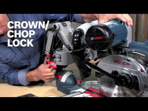 Bosch Power Tools – CM10GD 10″ Dual-Bevel Glide Miter Saw Product Video