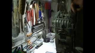Kreidler 50cc Race (kit)blok bouwen DEEL 9B