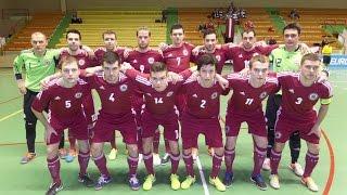 14.01.2015. ANDORA - LATVIJA (2:3) UEFA EČ kvalifikācija telpu futbolā