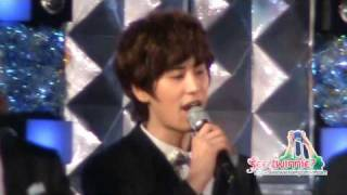 090919 Asia Song Festival - Kyuhyun Focused Heal the World