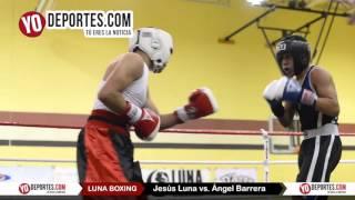 Jesus Luna vs. Angel Barrera Joliet Luna Boxing 2015