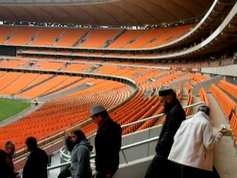 Soccer City inside tour