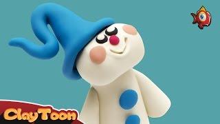 Snowman - Polymer clay tutorial