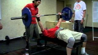 B Weinstock BPR 70 kg Std Wt 3 Reps