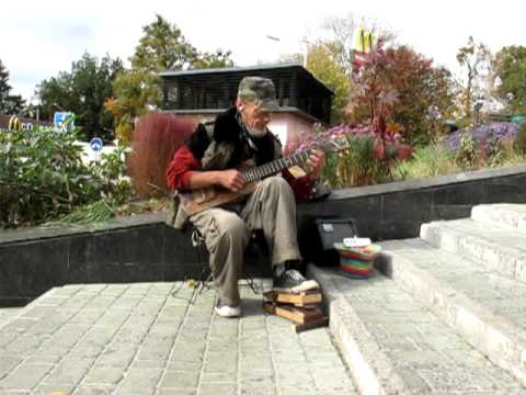 Home made guitare in Kharkov Ukraine.