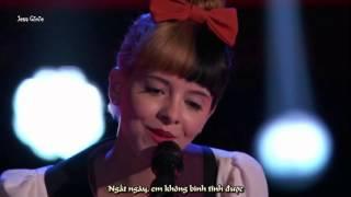 "[Vietsub] Melanie Martinez's Audition: ""Toxic"" - The Voice"