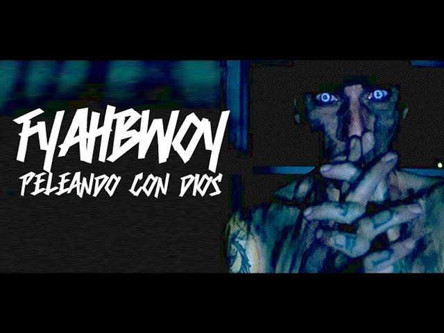 """Videoclip oficial de la canción """"Peleando con Dios"""" de Fyahbwoy."""
