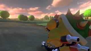 Wii U - Mario Kart 8 - (Wii) Moo Moo Meadows Battle