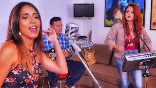 Becky G - Mayores (Official Video) ft. Bad Bunny | Cover Acústico | Dedica una canción