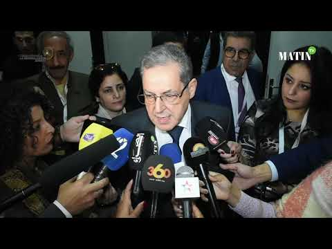 Video : Colloque National de la Régionalisation avancée : Déclaration de Mhand Laenser