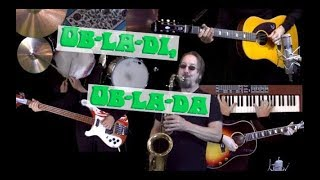 Ob-La-Di Ob-La-Da - Instrumental Cover - Guitar, Bass, Drums, Sax, Piano and Auxiliary