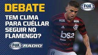 O QUE ACONTECE COM CUÉLLAR? O FOX Sports Rádio debateu a situação do volante no Flamengo