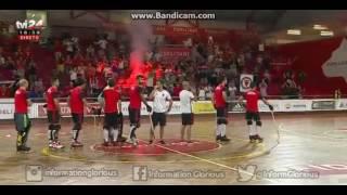 Adeptos do SL Benfica no treino da equipa de Hóquei em Patins