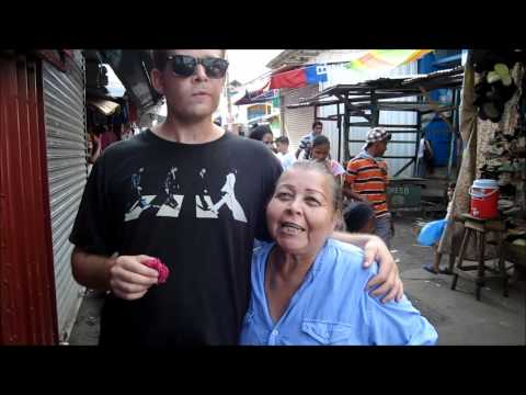 Eating COCO on the Streets of Granada, Nicaragua
