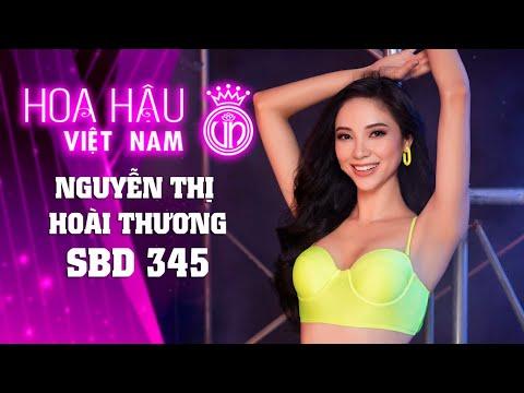 345 NGUYỄN THỊ HOÀI THƯƠNG HOA HẬU VIỆT NAM 2020