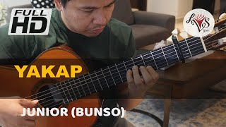 Yakap - Junior (solo guitar cover)