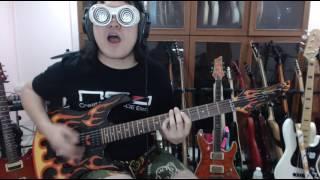 แป๊ะ  Syndrome -  Zombie - หน้ากากอีกาดำ Guitar Cover