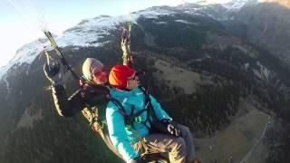 Paragliding with Xandi Furrer (Flug Taxi)