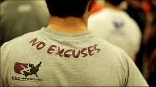Wrestling Spirit - No Excuses - Motivational Video