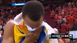 Stephen Curry Emotional Interview After Game 7 :Never Underestimate The Heart of A Champion!