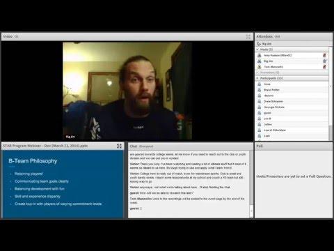 Video Thumbnail: STAR Webinar: Developmental Teams (2016)