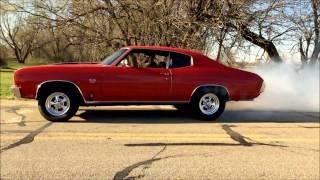 1970 Chevelle SS Burnout
