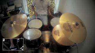 Crazy For You - New Found Glory/Madonna - Drum Cover