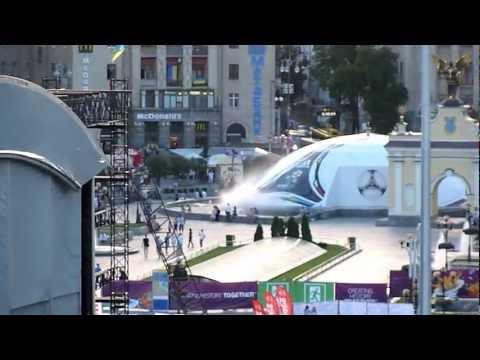 """EURO 2012 """"Fan zone"""" Kiev (UKRAINE)"""