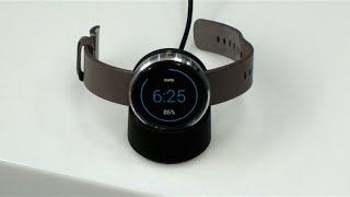 مراجعة الساعة الذكية Motorola Moto 360
