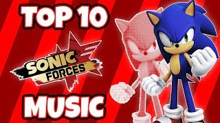 Top 10 BEST Sonic Forces Music Tracks width=