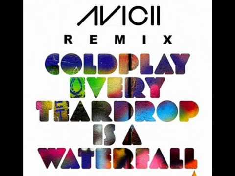 Coldplay Every Teardrop Is A Waterfall Avicii Tour Mix Chords
