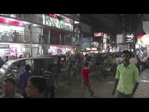 Glimpses : Bangladesh at night