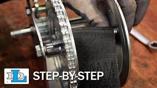Installing Strap on Brake and Pulling Winches - Step-By-Step