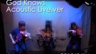 """Live! with violin&guitar """" God Knows """"  [ Haruhi Suzumiya  ]"""