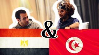 Hor Cujet + : وقتلي يتقابل تونسي و مصري