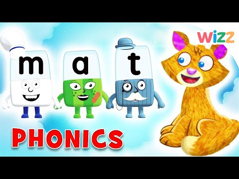 Alphablocks-The Cat On The Mat(The word family -at)