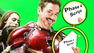 These Avengers Bloopers Revealed More Than We Realized For Phase 4