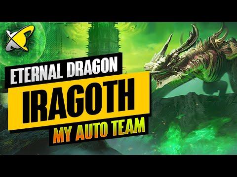 ETERNAL DRAGON IRAGOTH | My Full AUTO Hard Floor 120 Team | RAID: Shadow Legends