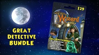 The Great Detective Bundle for Wizard101